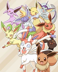 Which Eeveelution Are You? -Pokémon | Created by: Rachel Arabelle (Me)