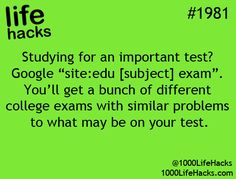 Studying for an important test? Check out this life hack!