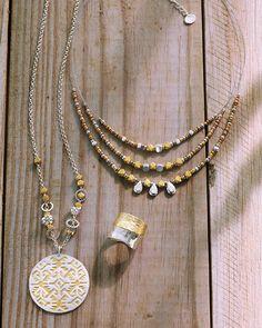 Sundial Necklace | Jewelry by Silpada Designs www.mysilpada.com/angie.bragg