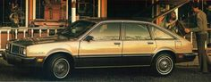 Pontiac Phoenix- 80hp of pure gold. My college car... no wonder I couldn't get a date.