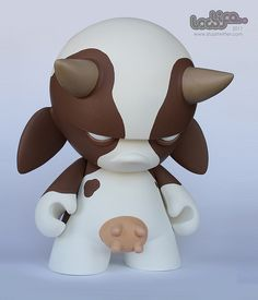 Cow Logic 1 (by Stuart Witter)Dunny / Munny More Pins Like This At FOSTERGINGER @ Pinterest