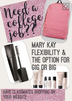 Mary Kay opportunity.