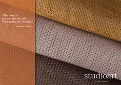 Bisanzio embossed leather Studioart #details #waterproof