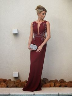 Burgundy Evening Dresses, A Line ChiffonProm Dress, Sexy Beading Crsytals Party Dress, Long Formal Dress Burgundy Evening Dress, Evening Dresses, Prom Dresses, Formal Dresses, Fashion Vestidos, Dress Vestidos, Dress Making, American, Ideias Fashion