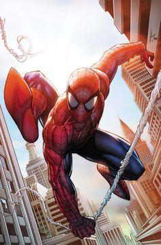 "#Amazing #Spiderman (#Fan #Art. (Amazing Spider-Man ""You're_Hired!"" Vol.1 #1 Cover) By: Dale Keown. (THE * 5 * STÅR * ÅWARD * OF: * AW YEAH, IT'S MAJOR ÅWESOMENESS!!!™)[THANK Ü 4 PINNING!!!<·><]<©>ÅÅÅ+(OB4E)"