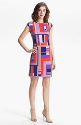 Donna Morgan Print Sheath Dress