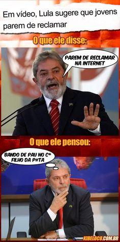 Em vídeo, Lula sugere que jovens parem de reclamar