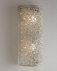 Four Hands Scattered Crystal Sconce I Horchow
