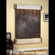 This Indoor Wall Hanging Water Fountain Will Make Your Office A Hit. All Of  My