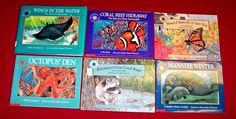 6 Teacher Resource Science~Smithsonian Institution Oceanic Backyard Books