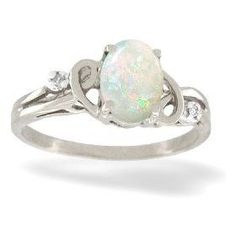 opal diamond edwardian engagement ring wants pinterest opal engagement rings white gold and nice - Opal Wedding Ring Sets