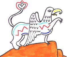 Griffin again. #Drawing #Doodle #Griffin