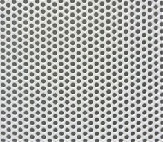 "18"" by 39-1/4"" Sheet of Perforated Steel Powder Coated White for DIY Speaker Grills"