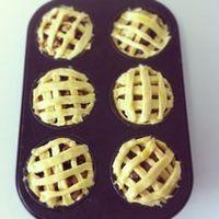 Sinner Sunday: Mini appeltaartjes makkelijk bladerdeeg