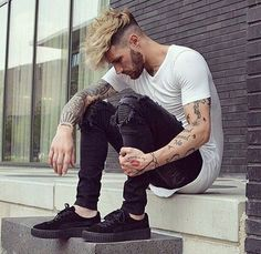 mens outfits at the oscars Fashion Mode, Urban Fashion, Boy Fashion, Womens Fashion, Daily Fashion, Urban Hairstyles, Undercut Hairstyles, Men Hair Color, Kohls Dresses