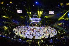 The WorldSkills Opening Ceremony at Ginasio Ibirapuera