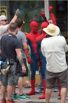 SPIDER-MAN HOMECOMING - NOVOS VÍDEOS MOSTRAM TOM HOLLAND EM AÇÃO NO SET DE FILMAGENS! ~ Falo o que gosto Universo Nerd e Geek - Filmes - Séries - Games - HQs - Quadrinhos e Super-heróis!