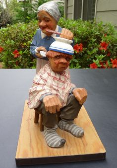 C O Trygg Scandinavian Wood Carving Sweden 1965 | eBay