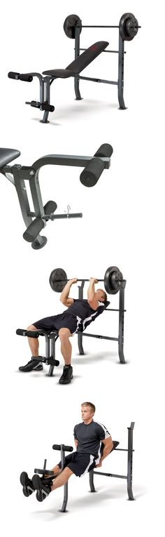 Weight Sets 179818: Marcy Weight Bench 80Lb Weight Set Md-2080 Chest Leg Full Body Workout Exercise -> BUY IT NOW ONLY: $160.99 on eBay!