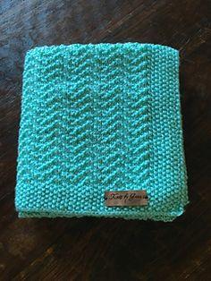 Crochet Baby Blankets Ravelry: The Oden Baby Blanket pattern by Gena Shaffer - Free Baby Blanket Patterns, Baby Knitting Patterns, Loom Knitting, Knitting Stitches, Crochet Patterns, Free Knitting, Crochet Edgings, Knitted Baby Blankets, Baby Blanket Crochet