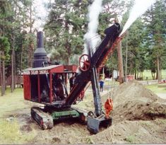 Cool steamshovel