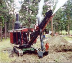 Cool steamshovel