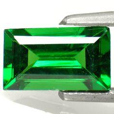 1.18-Carat Octagon-Cut Dark Green Kenyan Tsavorite Garnet