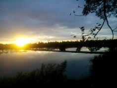 The beautiful nature when the sun sets in aceh big - indonesia