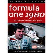 DVD - FORMULA 1 1980 REVIEW