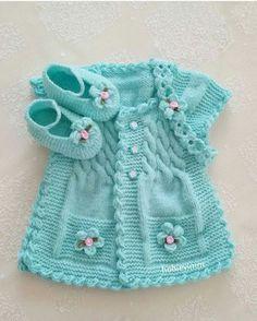 Hermoso chaleco de bebe color turqueza con botines y cintillo. [] #<br/> # #Crochet #Baby,<br/> # #Baby #Knitting,<br/> # #Knitting #Ideas,<br/> # #Baby #Sweaters,<br/> # #Color,<br/> # #Knitting,<br/> # #Shelter,<br/> # #Tissue,<br/> # #For #Babies<br/>
