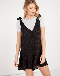 Spotted Button Front Playsuit