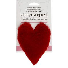 Fashion First Aid Women's Kitty Carpet Reusable Downstairs Toupee Merkin, One Size - Great Gag Gift (Heart Red) >>> Check out this great product. (This is an affiliate link) Funny Valentines Gifts, Valentines Gifts For Boyfriend, Boyfriend Gifts, Joke Gifts, Funny Gifts, Gag Gifts For Women, Honeycomb Shape, Gag Gifts Christmas