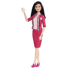 Barbie I Can Be President B-Party Asian Doll-Google Images--Barbie wasn't this diverse when I was a kid!  Makes me want to start collecting again!