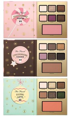 Too Faced Christmas In New York Holiday 2016 Makeup Collection