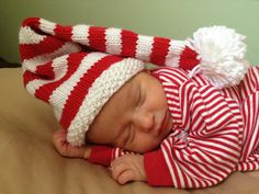 Ravelry: jackiesuejones' christmas hats for babies