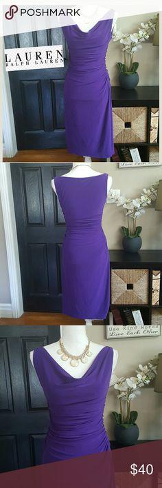 """Gorgeous Ralph Lauren Dress sz 2 Gorgeous dress, Aprox 39"""" long Lauren Ralph Lauren Dresses Midi"""