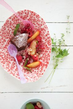 There Is Always Chocolate In The Summer {Chocolate and Hazelnut Cake} :: Cannelle et Vanille