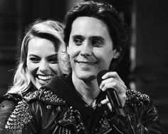 Margot Robbie and Jared Leto Margrot Robbie, Film Facts, Harely Quinn, Adventure Film, Joker And Harley Quinn, Jared Leto, Best Actress, Celebrity Gossip, Cute Couples