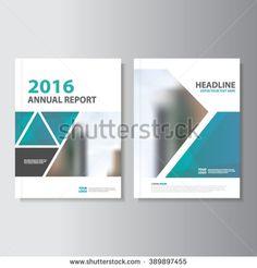Orange Vector Leaflet Brochure Flyer Template A4 Size Design Annual
