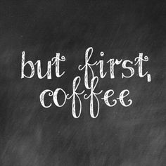 The only way to start a #Monday is with freshly brewed #coffee!