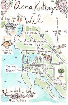 Whimsical Custom Wedding Map Invitation Invitations Pinterest Alternative Weddings And