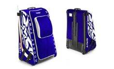Grit Inc. 2012 HT1 Hockey Tower 36-Inch Toronto Maple Leafs Blue  White Hockey Equipment Bag. HT1-36-TO by Grit Inc.. $149.95. Holds, Elbow pads, gloves, shoulder pads, shinguards, pants and sandals. A BladePort on either side of the bag to hold your blade and straps at the top to secure your stick in place. Removable stick strap for left or right handed players. Front zipper flap. Removable wet/dry bag. Foot carpet. Air dry vents. Helmet shelf with slots for skates. The 201...