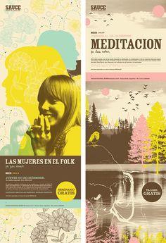Sauce Festival  Posters + Flyers  Proyecto realizado en el año 2008.  #design #layout