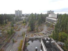 Pripyat main square
