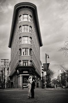 Engagement photo in downtown Vancouver. Matt Kennedy - Portfolio Photo By www.mattkennedy.ca