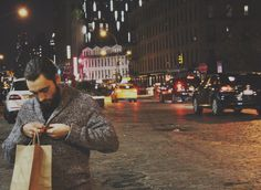 My favourite things. My boyfriend and NYC