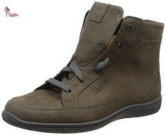 Ganter Gill, Weite G, Baskets Basses Femme, Gris-Grau (Asphalt 6100), 37 EU - Chaussures ganter (*Partner-Link)