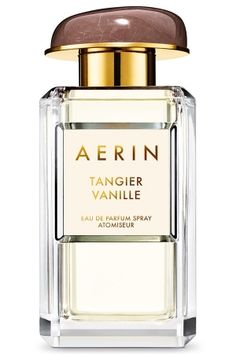 Tangier Vanille Aerin Lauder for women...  The composition of the fragrance opens with Madagascar vanilla combined with Italian bergamot and velvety Bulgarian rose, taking us to the heart warmed by amber aromas. The base is built around a sensual and creamy blend of sandalwood and musk.