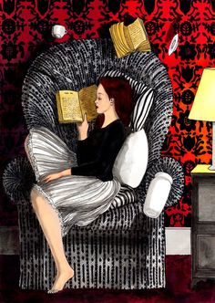 love book to read Reading Art, Woman Reading, I Love Reading, Reading Chairs, Reading Books, I Love Books, Good Books, Books To Read For Women, Book Reader