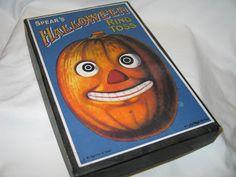 Vintage Halloween Collector: Halloween Games